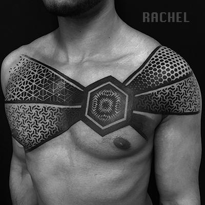 Rachel / Dot work / Geometrique
